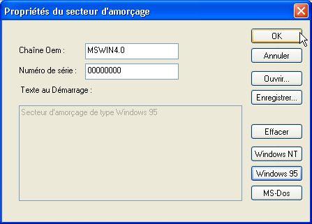 disquette de boot dos